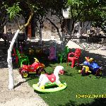 child friendly garden