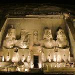 Abu Simbel sound and light show.