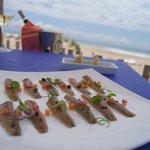 Un local en primera línea de playa, con una excelente cocina de mercado