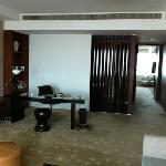 2 bedroob club suite 26th floor working desk