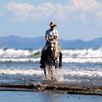 Horseback Riding on the Beach in Nicaragua