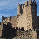 vista del castillo