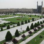 La piazza dell' Imam