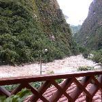 View from my balcony at El Santurio Hotel