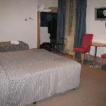 Our room - nice & spacious