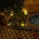 la piscine du riad - sympa, non ?