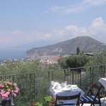 The Panoramic sea view from Casa Mazzola