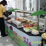 buffet restaurant extérieur
