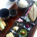 Delightful Japanese breakfast.