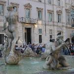 Il y a la Rome antique, mais aussi la contemporaine