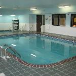 Indoor Pool & Spa open 24 hours!