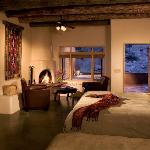 Cliffside Suite at Ojo Caliente Mineral Springs