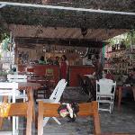 Inside Kuyto cafe