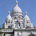 The Sacre Coeur on top of Montmartre
