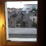 magnifique vue sur le cimetiere de ma chambre