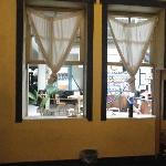 open windows into common area = noisy