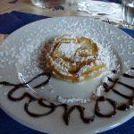 The Italians do NOT joke about dessert, even at mountain lodges