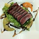 fresh tuna grilled