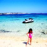 makronissos beach next to the hotel