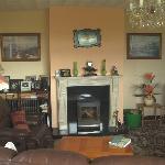 Lounge im Dromin Farmhouse