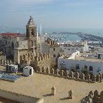 Vista casco histórico de día
