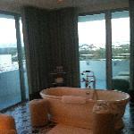 amazing bath and views!