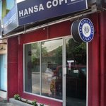 The front of the coffee shop