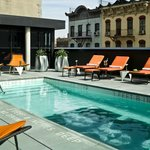 Andy warhol pool deck