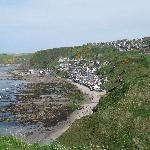 Gardenstown from the old church