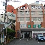 rear of Hotel Shomeikan, Mishima