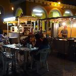 Mercado at night