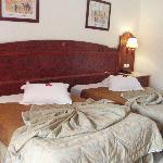 Amplias y comodas camas
