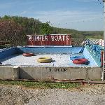 Bumper boats were busted no mention of that on the website