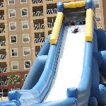 Big blow up waterslide