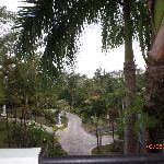 Superior Garden Room balcony view