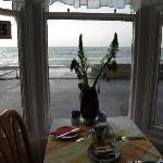 Breakfast Room faces the Beach