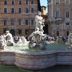 ローマ、イタリアは本当に噴水の多いところ
