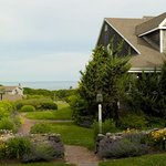 The Carriage House overlooks Vineyard Sound