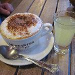 cappuccino and limoncello