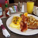 Enjoy Breakfast with us every morning!