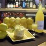 Tommy's Home-made Limoncello and our Limoncell Tiramisu