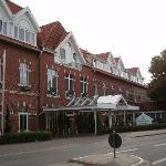 Hotel von der Straße