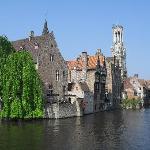 Bruges in the sunshine