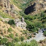 The Monastery of Geghard - stunning location