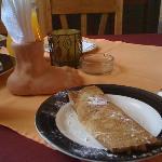 pancket de manzana con Caña Paraguaya *recomendado