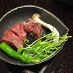 Kobe beef.