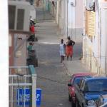 Blick auf die Strasse