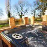 Your relaxing private hot tub