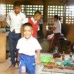 Traditional Khmer Dance at ACODO Orphanage Foto