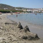 main beach, Agia Pelagia